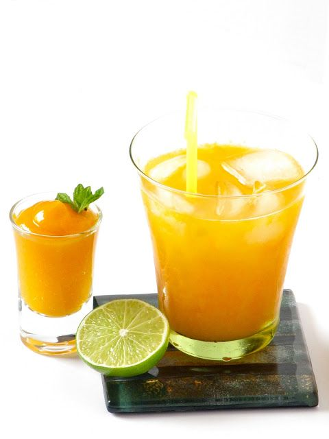Plateful: Mango Spritzer | Recipes | Pinterest