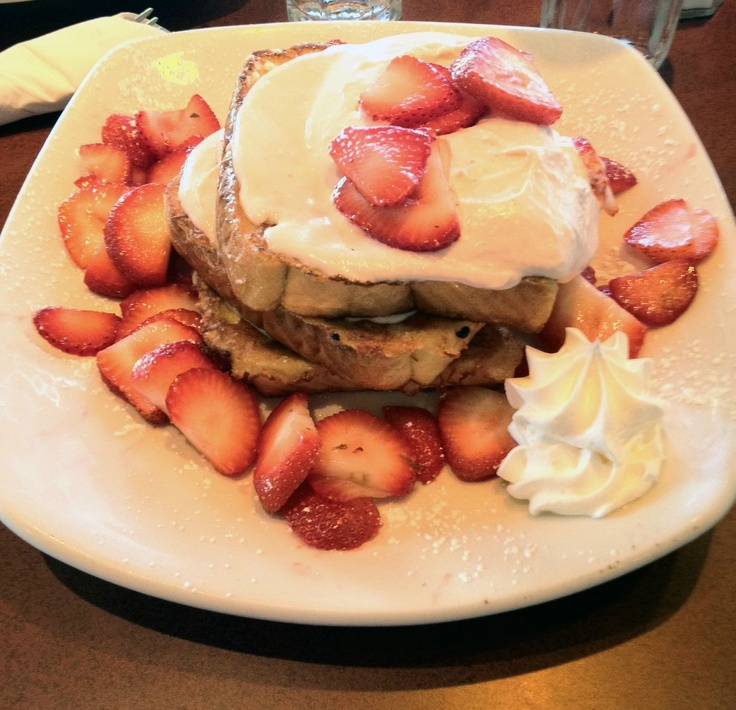 Strawberry Cheesecake French Toast | Food - Sweets | Pinterest