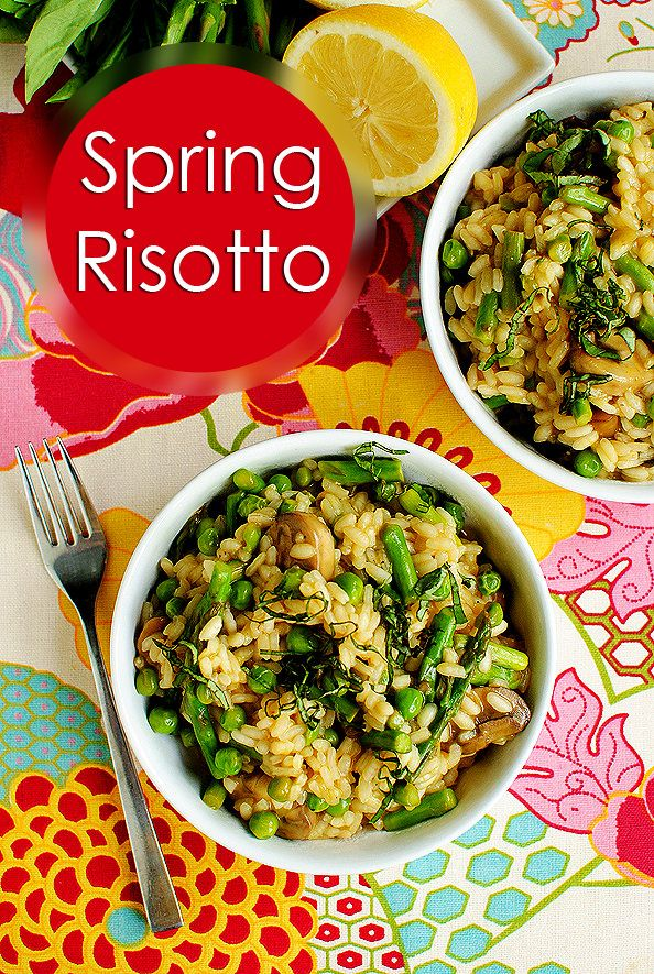 Lighter Spring Risotto highlights the best spring produce, yet doesn't ...