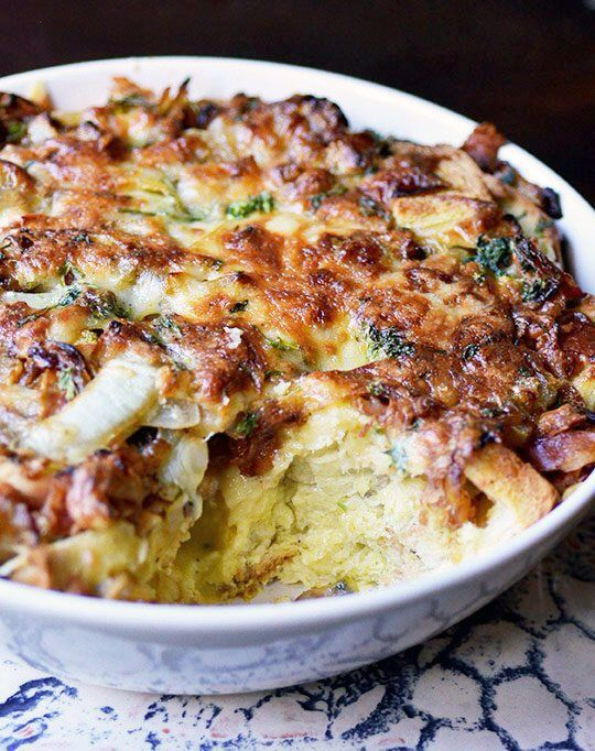 ham and cheese breakfast casserole | Let's EAT! | Pinterest