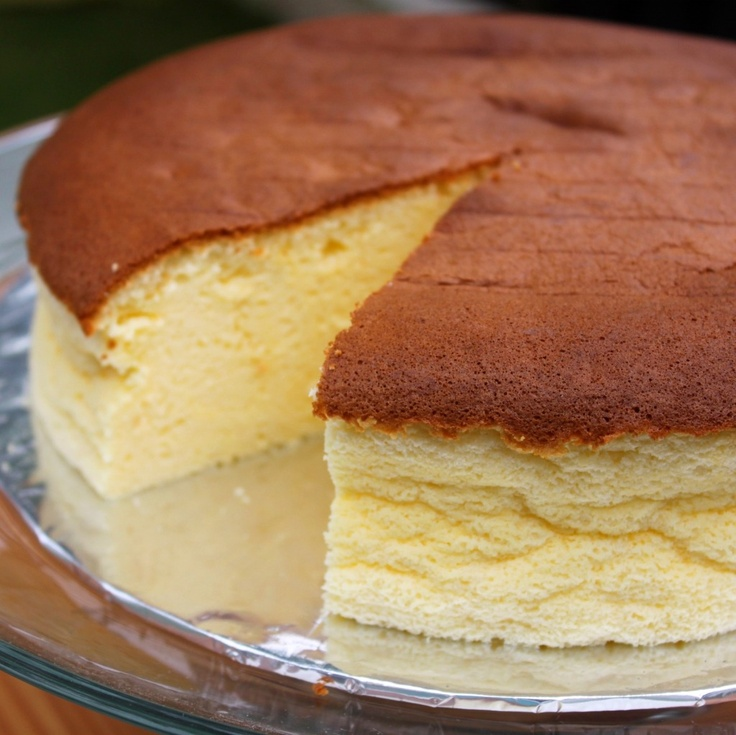 Japanese Light Cheesecake | Cake Recipes | Pinterest