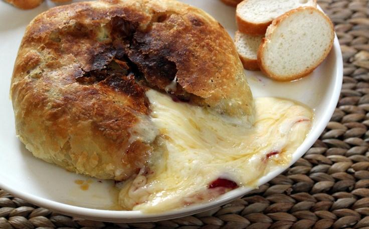Baked Brie + Raspberry Preserves | Recipe