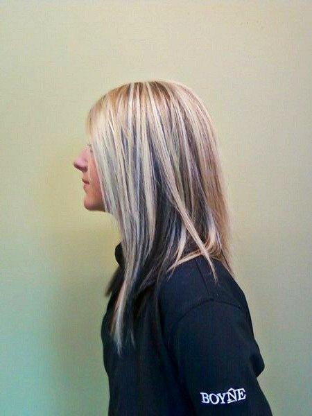 Dark Hair Underneath Blonde