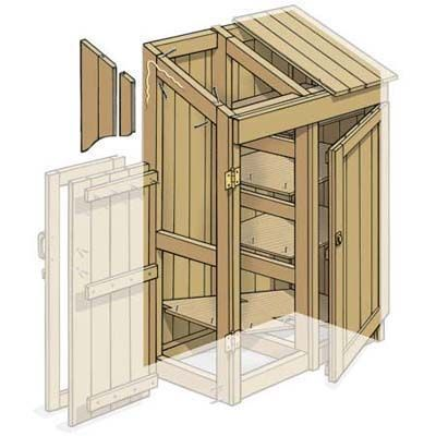 How to build tool shed foundation
