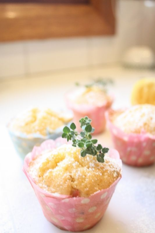 Mini lemon thyme syrup cakes | Baking with Gab | Pinterest