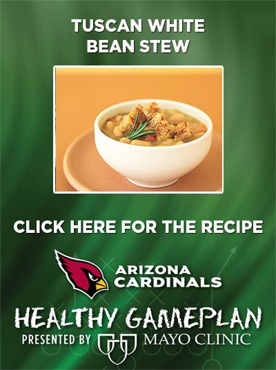 Tuscan White Bean Stew. For more healthy recipes visit our Healthy ...