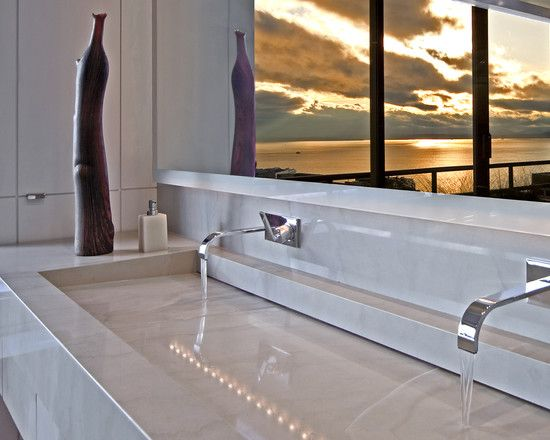 Commercial Trough Sinks For Bathrooms : Commercial Trough Sink Design, Pictures, Remodel, Decor and Ideas ...