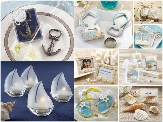 Best Selling Beach & Nautical Wedding Favors from KateAspen