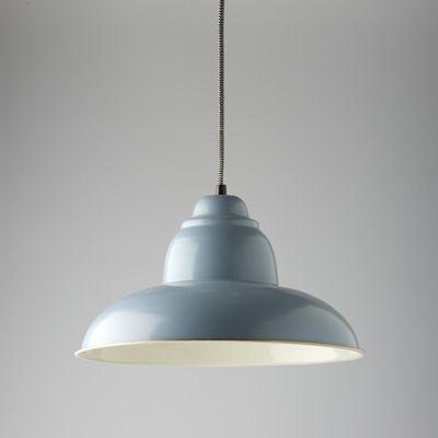 Grey Enamel Pendant Light Main Image Lighting Pinterest