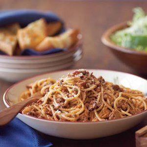 Easy Spaghetti Bolognese | Supper time! | Pinterest