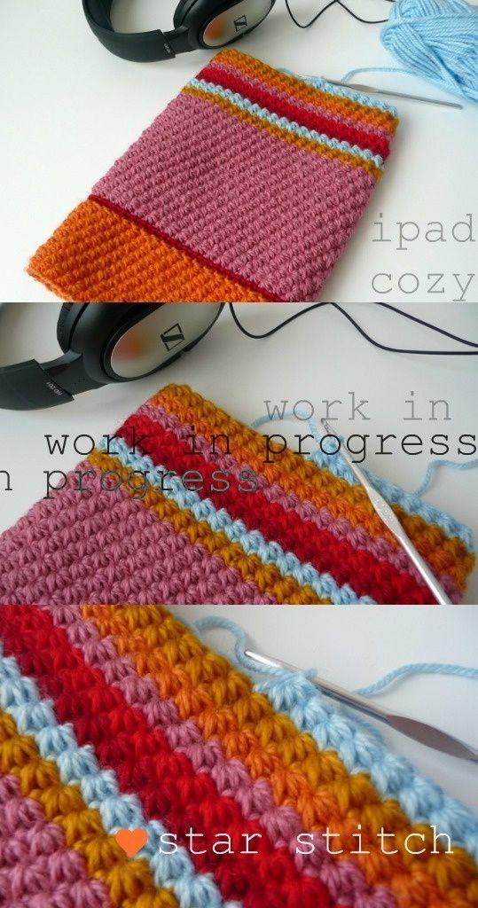 Crochet Star Stitch by sweet.dreams Crochet Pinterest