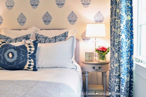 The Pink Pagoda: Blue and White + One Room Challenge