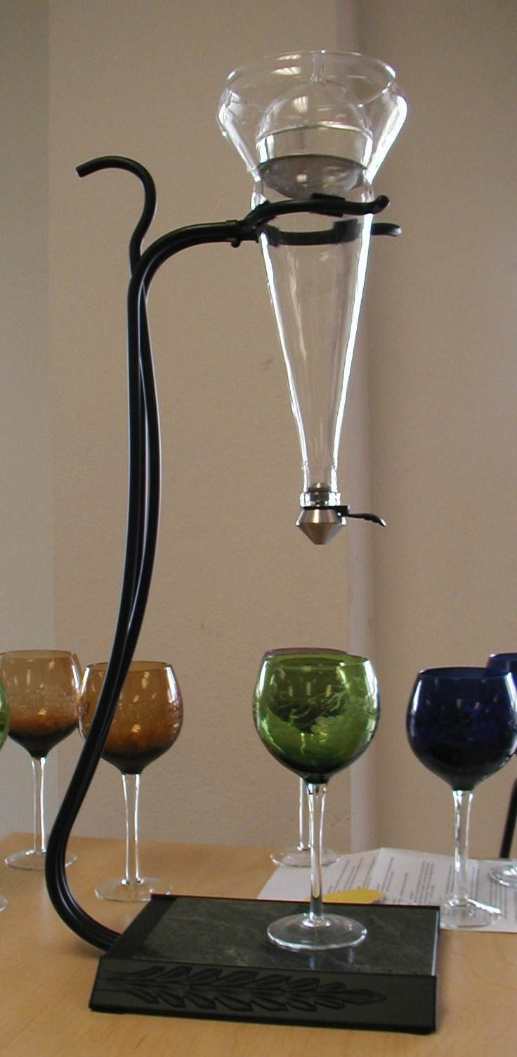 Grapevine fine wine decanter wine decanter pinterest for Wine carafes and decanters