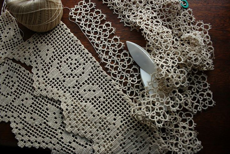 Crocheting And Tatting : More Crochet and Tatting :) Crochet Pinterest