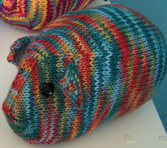 Knitting Pattern For A Guinea Pig : This Little Piggy... A Stuffed Toy Knitting Pattern ...
