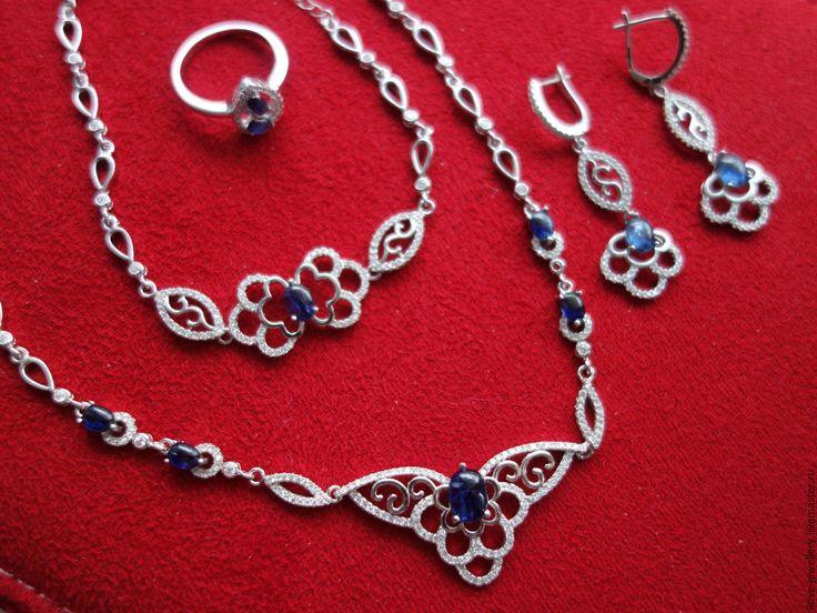Купить браслет серебряный с рубинами