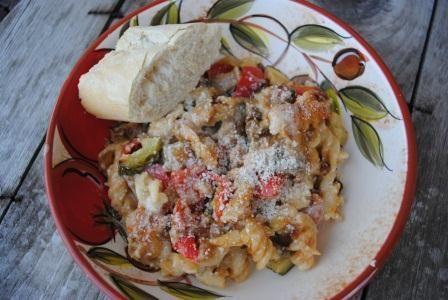 Roasted Ratatouille Lasagna | Pasta | Pinterest