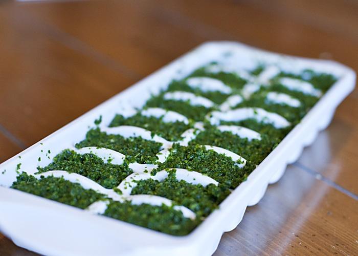 Frozen Kale Cubes from Lemon Thyme Diaries   Lemon Thyme Diaries ...