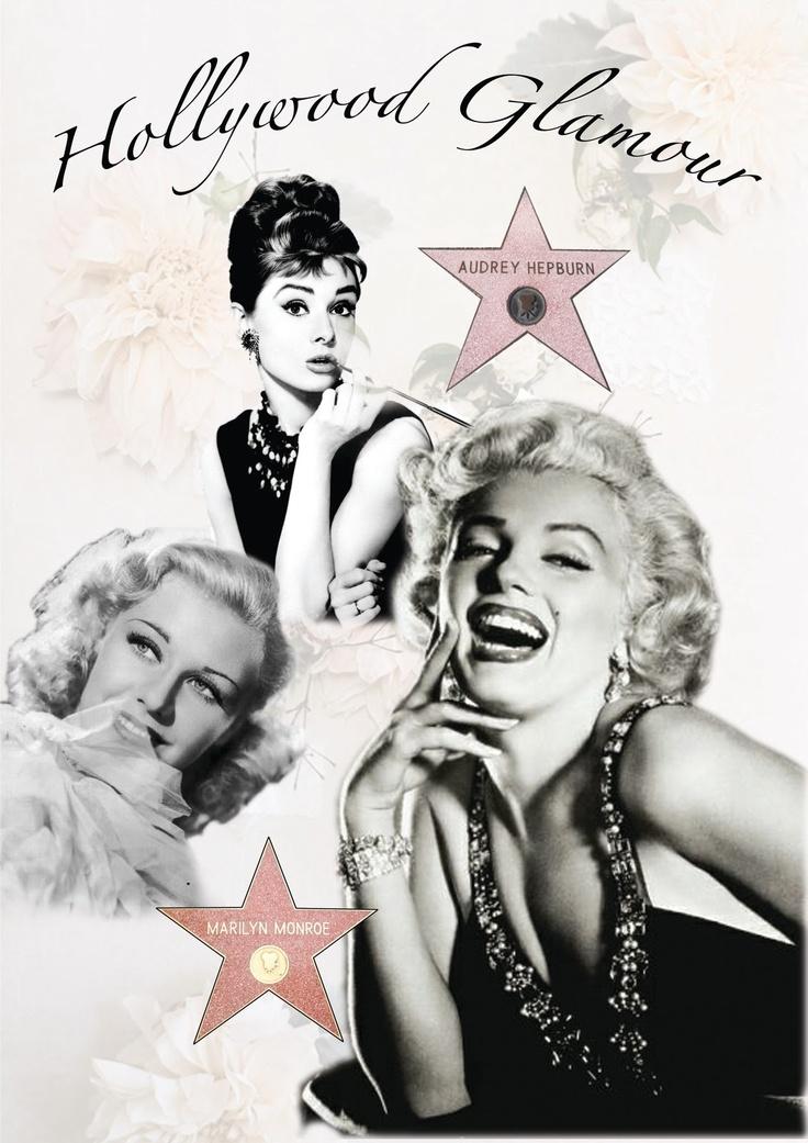 Old Hollywood Glamour Marilyn Monroe Pinterest