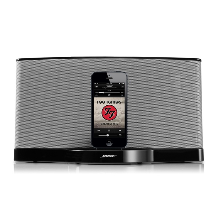 bose iphone speaker and dock i want this pinterest. Black Bedroom Furniture Sets. Home Design Ideas