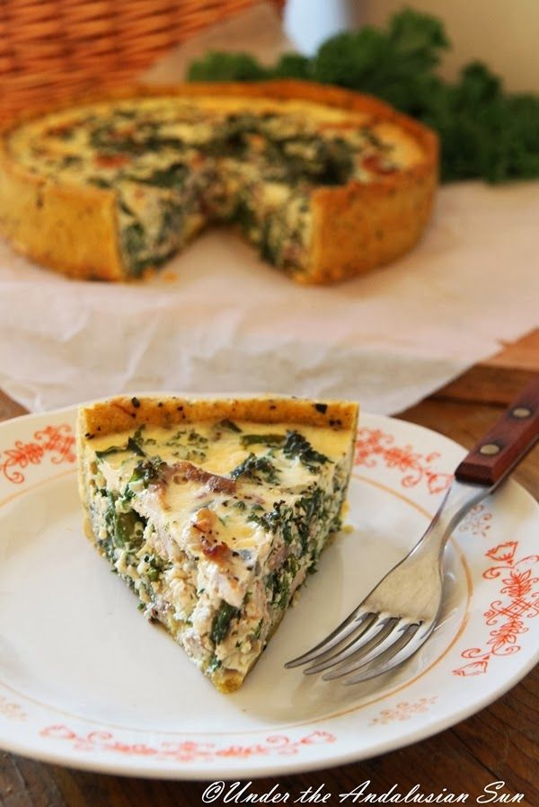 Under the Andalusian Sun: Kale quiche | Recipes To Try | Pinterest