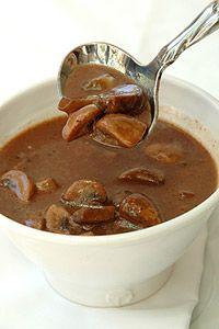Red Wine Mushroom Sauce | Favorite Recipes | Pinterest