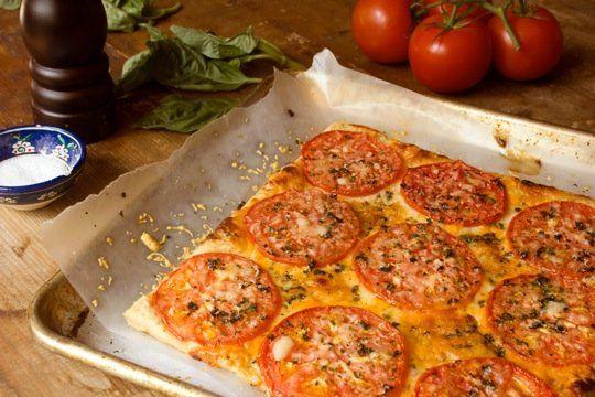 Three Cheese Tomato Tart | Recipe