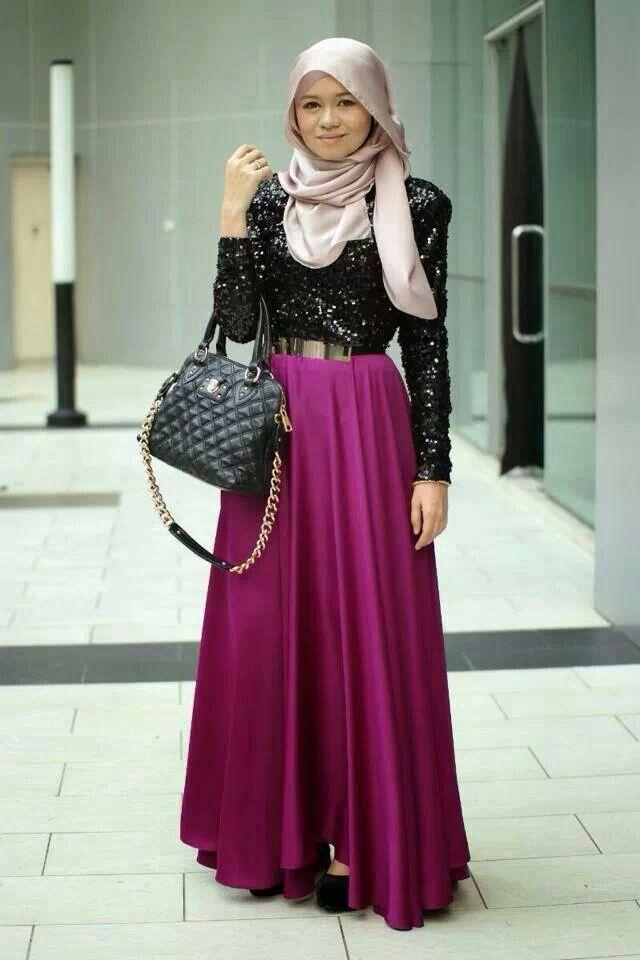 Muslimah Hijab Fashion Inspiration Pinterest