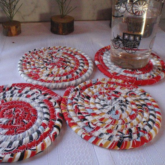 Hot+Wheels+Coiled+Fabric+Coasters++Set+of+4+for+by+YellowViolet,+$12 ...