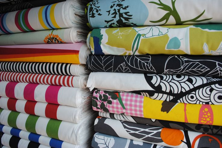 Algunas tiendas de tela en Independencia, Santiago de Chile  Some fabric stores in Independencia St. in Santiago de Chile