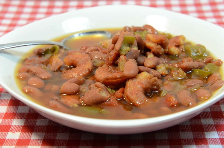 Spicy Creole Red Bean Soup - just throw a couple ingredients into the ...