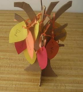 Thanksgiving, thankfullness tree