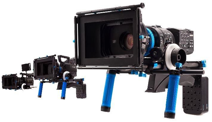 Redrock Micro Sony FS700 Studio & Shoulder Rigs