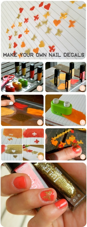 Make your own nail decals valerie074