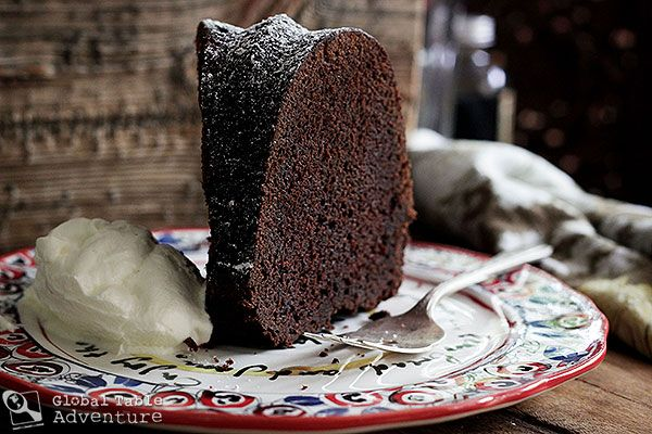 Midnight Mocha Rum Cake | Recipe
