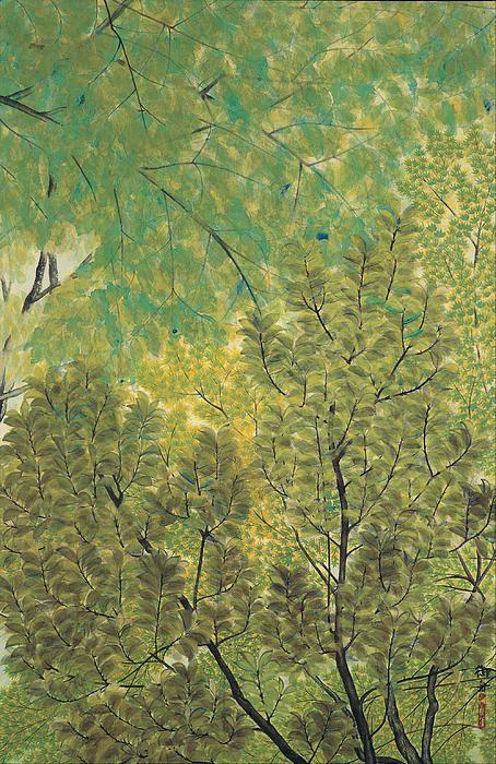 Hayami Gyoshū, New Leaves