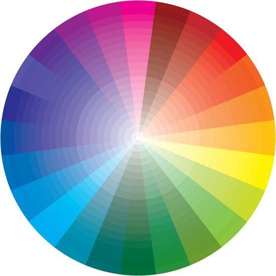 colorful spectrum colors - photo #2