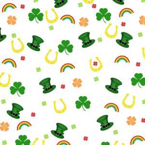 shamrock pattern wallpaper 1366x768 - photo #30