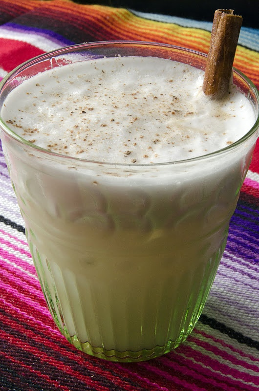 Horchata - this is made cold, but I prefer this drink hot like coffee ...