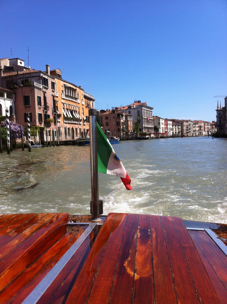 The waterways of Venice!