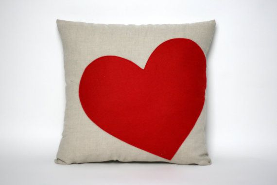 valentine heart pillow sale