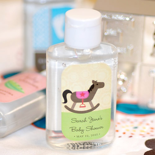 baby shower hand sanitizer by beau coup baby shower pinterest