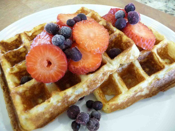 Soaked Whole Grain Blender Waffles - I'd like to use the same ...