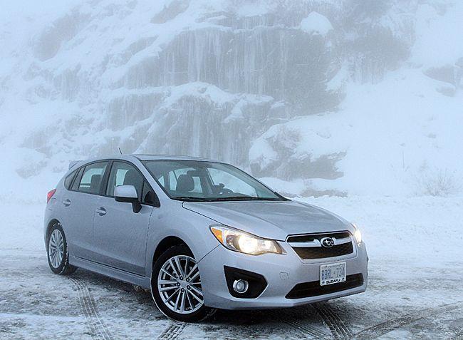2012 subaru impreza hatchback interior dimensions