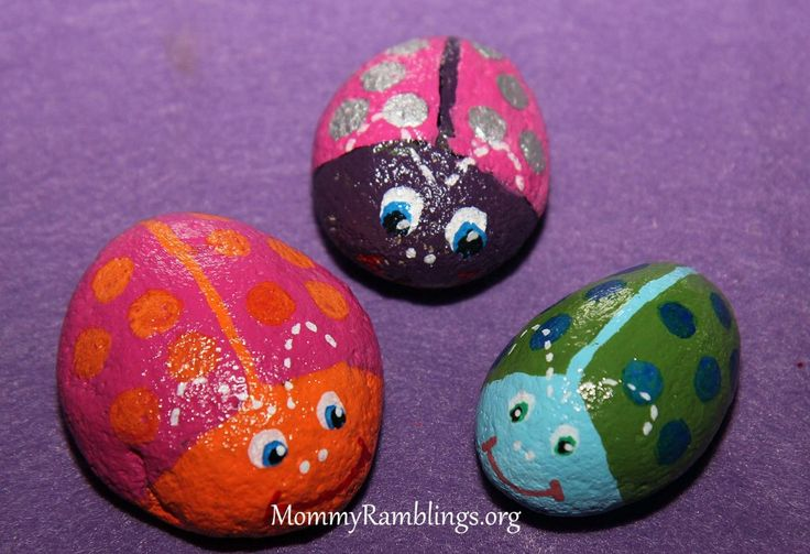 River rocks i painted my crafts diy projects pinterest for River rock craft ideas