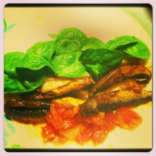 Portobello-Zucchini Tacos! | GET HEALTHY | Pinterest