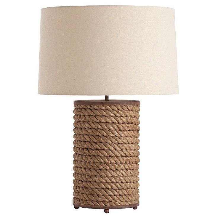 arteriors vern jute rope table lamp diy lamps and. Black Bedroom Furniture Sets. Home Design Ideas