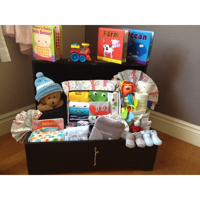 Baby Gift Ideas For Best Friend : Baby shower gift box for my best friend parties