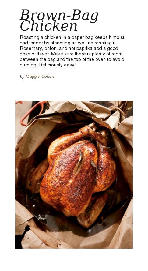 Brown-Bag Chicken | Food: Chicken | Pinterest