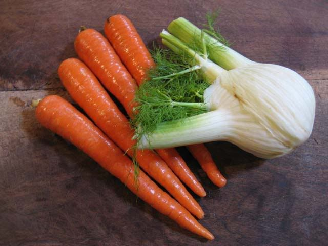 recipes: Carrot Ribbons With Fennel and Slow-Cooked Cinnamon Pork Loin ...